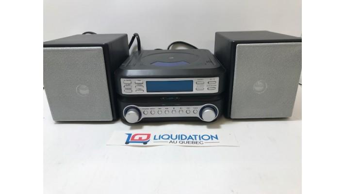 GPX Système de son pour la maison AM-FM-CD