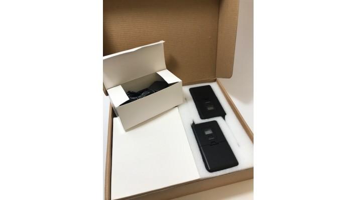 Ensemble de micro sans fil avec 2 casques et 2 Micro-cravate Fifine Technology