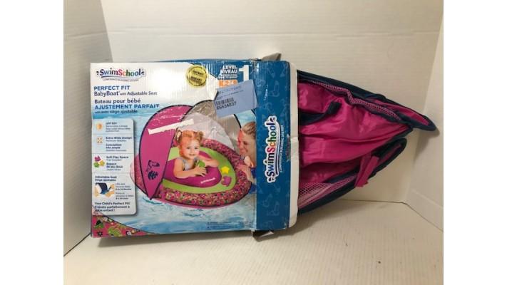 Bateau pour bébé SwimSchool avec auvent