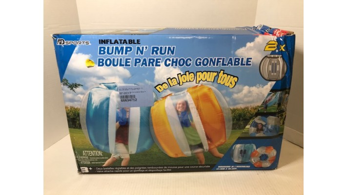 Jeu Bump N' Run boule pare-choc gonflable