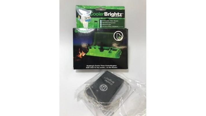 Guirlande de lumières vertes imperméables pour illuminer la glacière, Cooler Brightz
