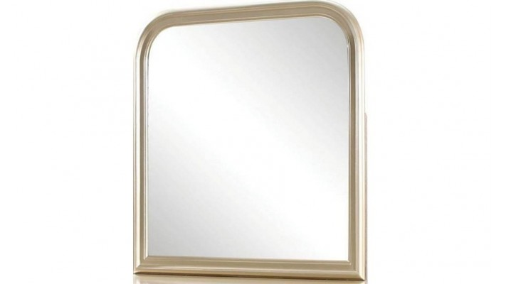 Miroir rond en bois noir de 21.6 po de diamètre Hometrends