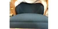 Fauteuil Modway Swell en tissu bleu