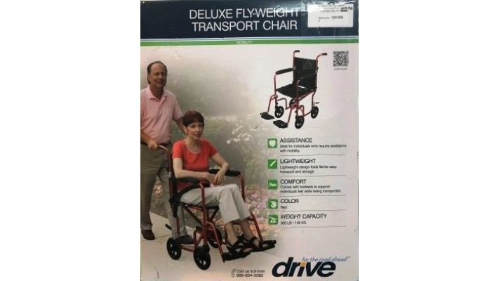 Fauteuil de transport léger de Drive Medical