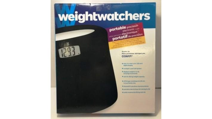 Pèse-personne électronique portatif de précision WeightWatcher par Conair