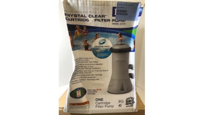 Intex Pompe à filtre AC 110-120 V, 1000-gallon, Krtystal Clear d'Intex
