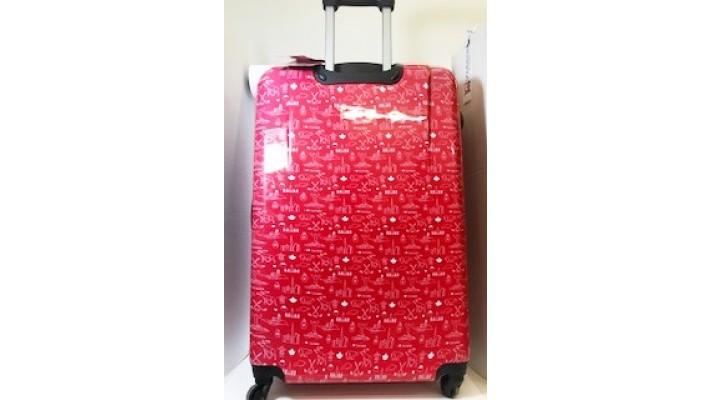 """Valise rigide pivotante 29"""" Heritage avec motif Canada rouge"""