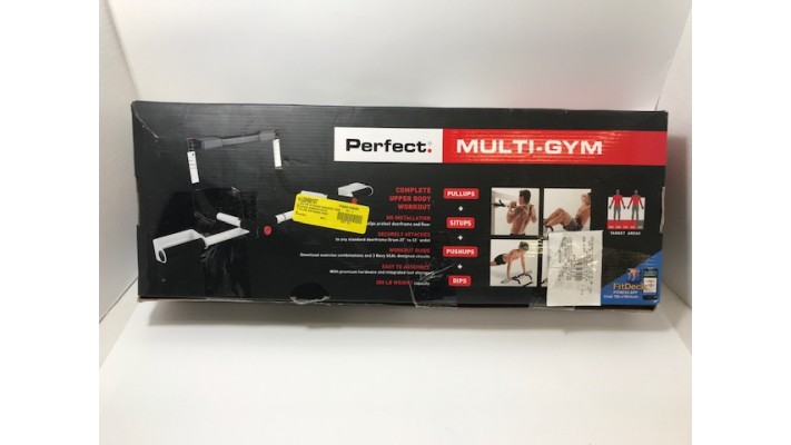 "Système de gymnastique portable ""Perfect Fitness Multi-Gym"""