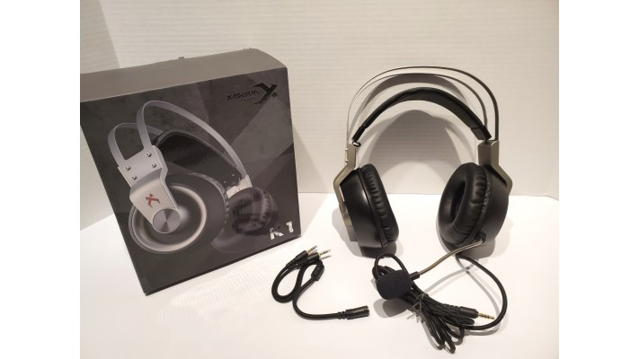 Casque audio filaire USB Gaming K1 avec microphone antibruit pour PC PS4 Xbox One Gamers