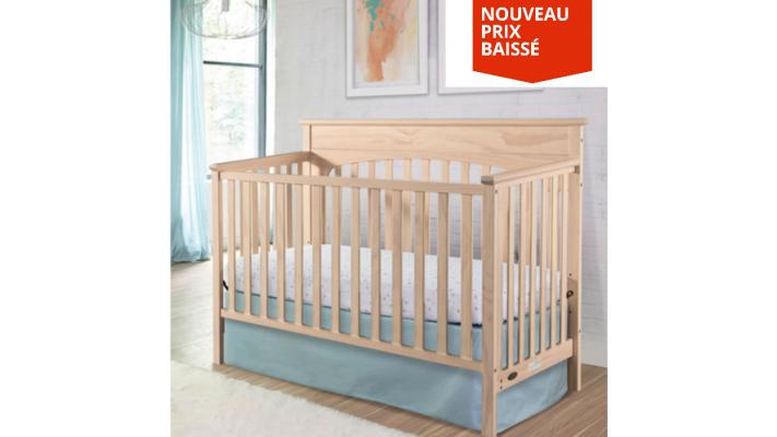 Lit de bébé transformable 4-en-1 Lauren de Graco