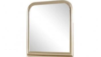 Miroir de commode, couleur champagne métallique