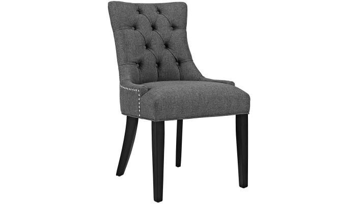 Chaise d'appoint Regent de Modway de couleur Granite ou brun