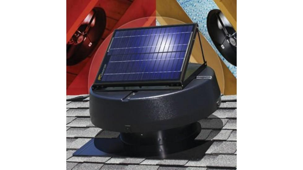 Ventilateur de grenier alimenté par énergie solaire - 15W - Sunfan