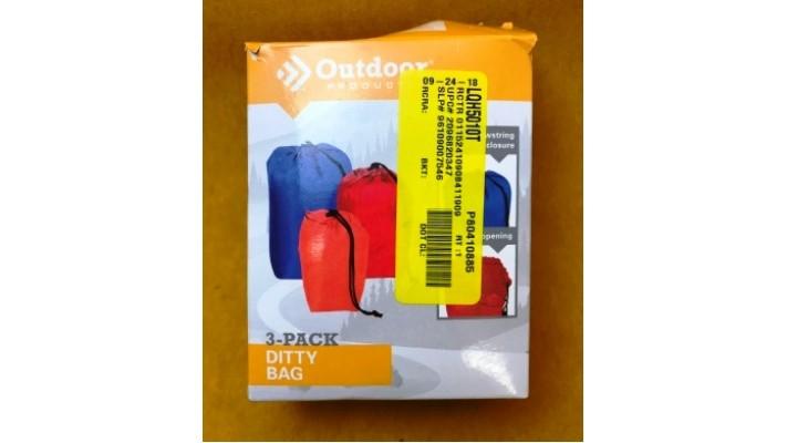 Assortiments de sacs de rangement pour le plein air