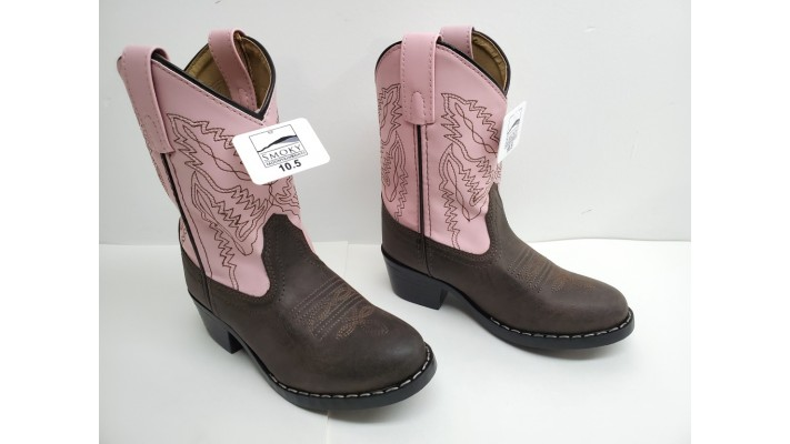 Bottes cowboy/cowgirl pour filles  Smoky Mountain Boots