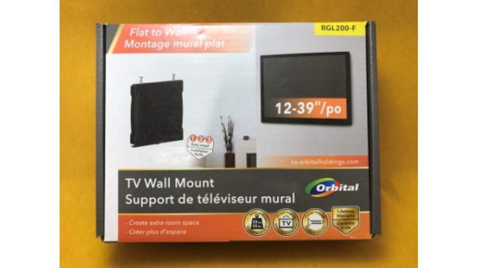 Support de téléviseur mural plat Orbital