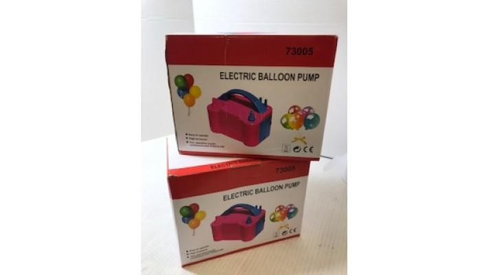 Pompe de ballon électrique portative